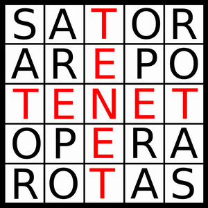 palindrom - sator arepo